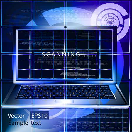Creation of innovative computer programs Stock Vector - 10391251
