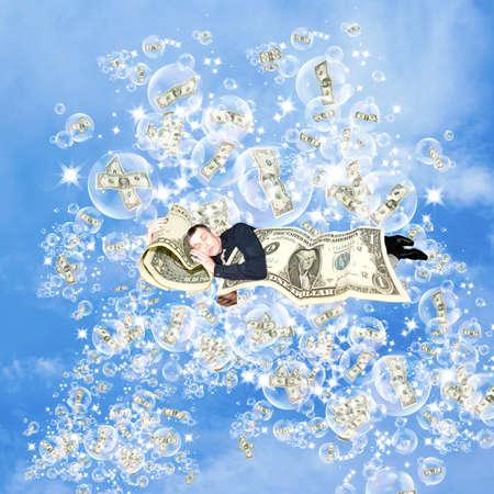 Financial dreams about money