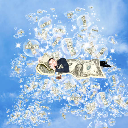 money risk: Financial dreams about money