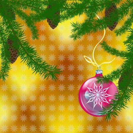 Abstract celebratory winter illustration  illustration