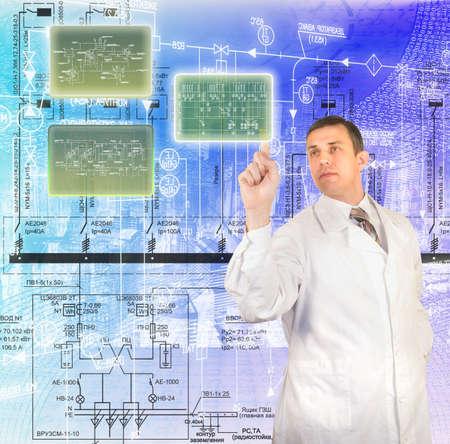 Innovative technologies of computer designing photo