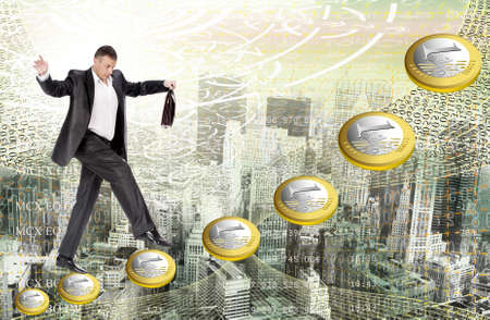investmen: In the financial world of business from bankruptcy to riches one step