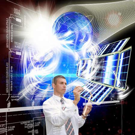 researches: Ricerche scientifiche nel campo della trasformazione di una energia solare spaziale