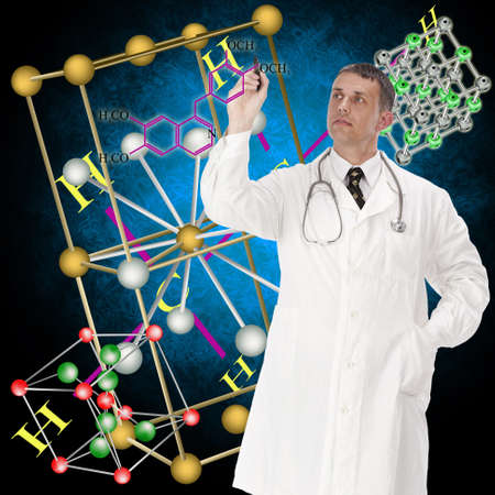 Scientific researches in the field of creation of the newest medical preparations Stock Photo - 11675198