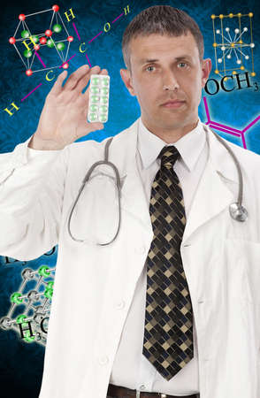 Scientific researches in the field of creation of the newest medical preparations photo