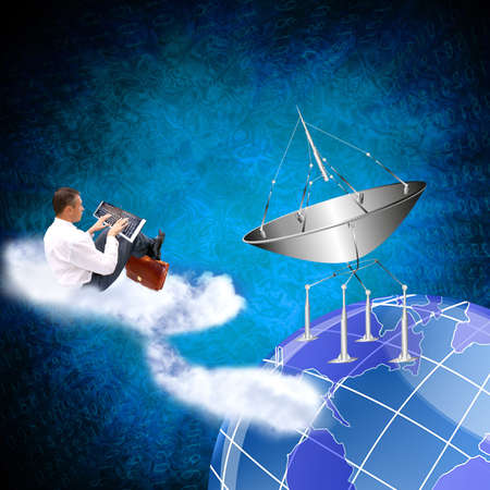 Creation of innovative systems of telecommunication communication and the Internet photo