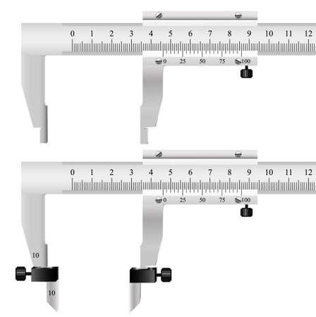 pied   � coulisse: L'outil de mesure pour l'assurance de la qualit� des d�tails en g�nie m�canique et en autres produits manufactur�s