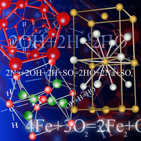 The newest technologies in the field of molecular chemistry and genetics Stock Photo - 12047775