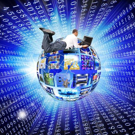 Internet concept Stock Photo - 12154897
