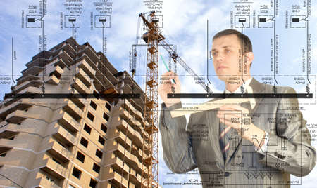 construction plans: Engineering construction designing