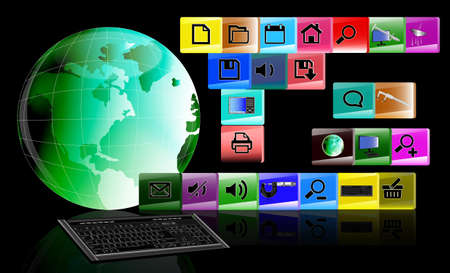 Innovative computers technology Stock Photo - 12871904