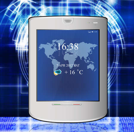 Innovative computer the technology Internet Stock Photo - 13082603