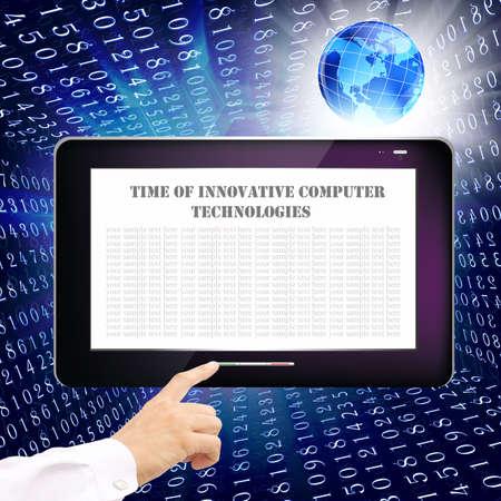 Innovative internet technology Stock Photo - 13604767
