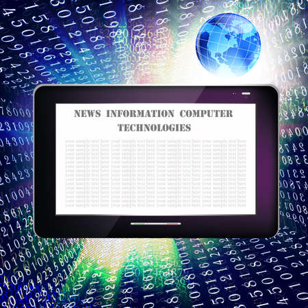 Creation of information safety technologies Internet Stock Photo - 13604770