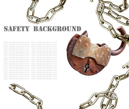 Safety background photo
