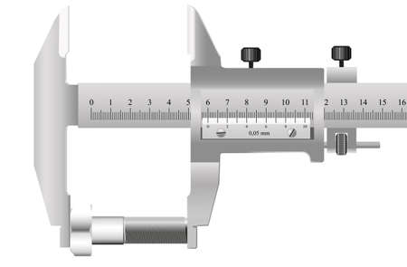 Innovative metrology Measurment background Vector