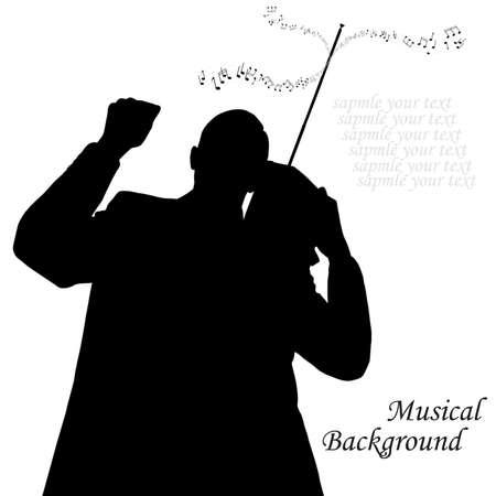 The retro radio Musical background photo