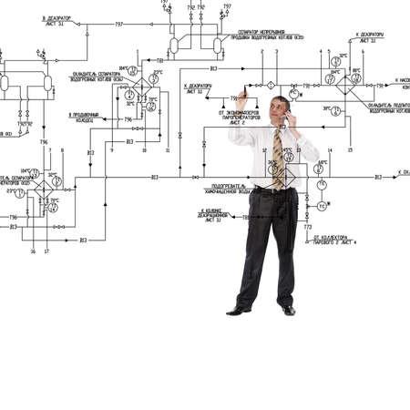 schema: Engineering construction designing