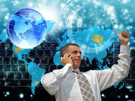 The Internet future Stock Photo - 14615636