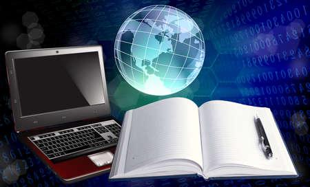Innovative computers Internet education photo