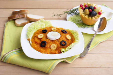 Vegetable soup puree  Stock Photo - 16059226