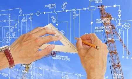 Engineering construction designing
