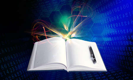 Internet education Stock Photo - 16398207