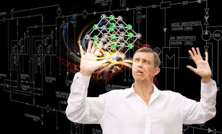 Scientific innovative  research Stock Photo - 16427749