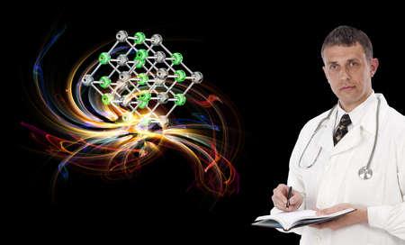 Scientific innovative genetics research Stock Photo - 16427751