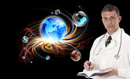 Medical research in the genetics of the future Stock Photo - 16458163