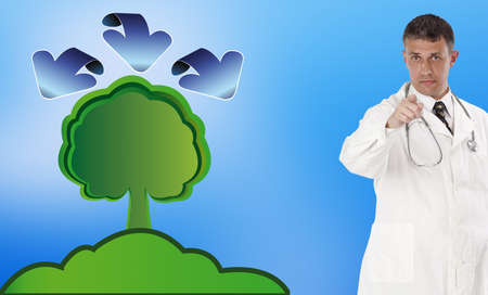 Ecology concept Healthy life Stock Photo - 16882496