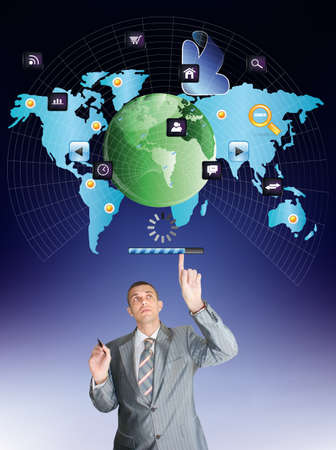 Innovative internet Connect concept Stock Photo - 16882623