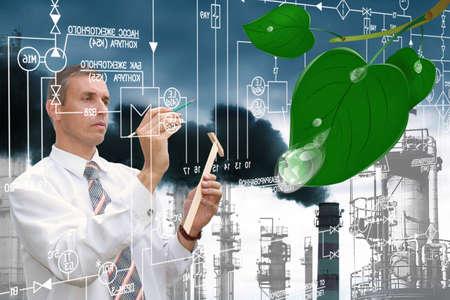 contaminacion ambiental: Ambientales de contaminaci�n industrial emisiones t�xicas