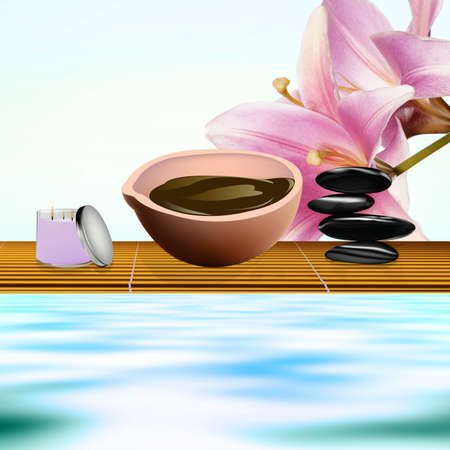 Body care The spa procedure concept photo