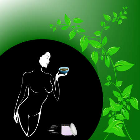 Best body care Healthy plants female medicine cosmetic Stock Photo - 17010070