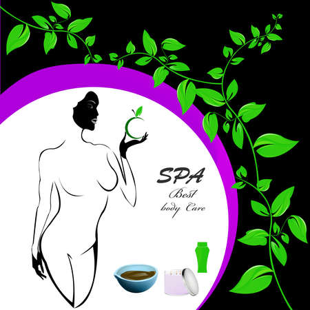 Best body care Healthy plants female medicine cosmetic and massage Stock Photo - 17010075