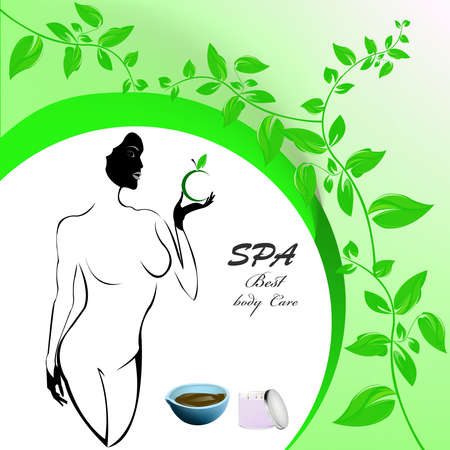 Best body care Healthy plants female medicine cosmetic and massage Stock Photo - 17010076