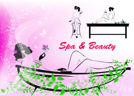 Body care The spa procedure concept
