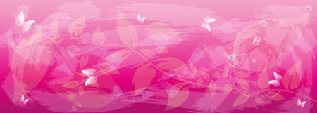 iillustration and painting: Abstract pink colorful  background