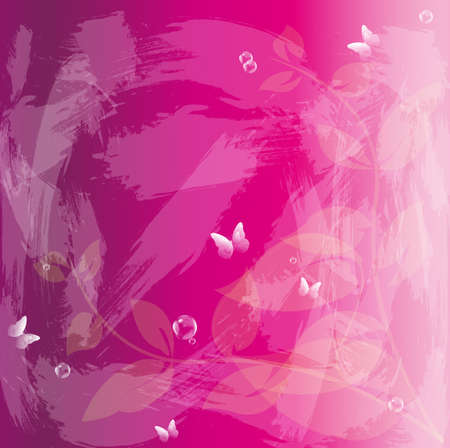 iillustration and painting: Abstract floral colorful  background  Stock Photo