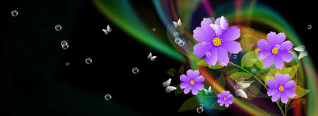 Spa Fondo colorido abstracto Foto de archivo - 17184915