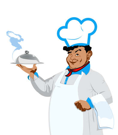 Funny Chef Food for gourmet