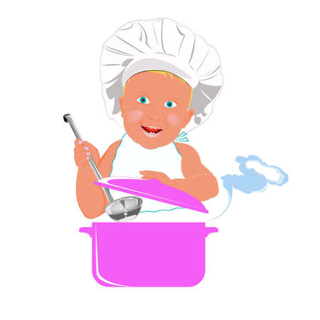 puree: Healthy nutrition food for baby