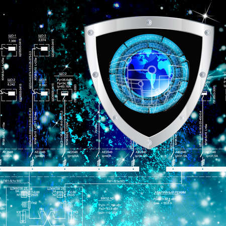 The newest Internet technology Connection Cybersecurity Standard-Bild