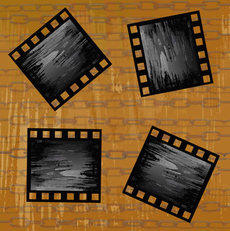 Retro cinematography Abstract background photo