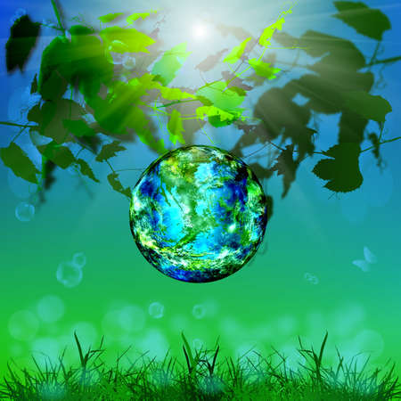 Earth day Season nature Safety climate background photo
