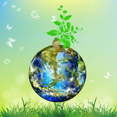 Earth day Season nature Climate Earth Vector Vector