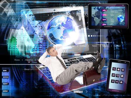 Internet website network E-business
