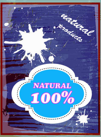 milk production: Label dairy products Abstract background Vector