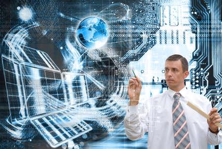 Computers globalization programming engineering technology photo